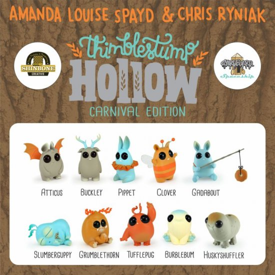 Thimblestump Hollow - Single Blind Box - Carnival - Click Image to Close