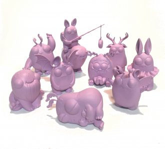 Thimblestump Hollow - Purple DIY - Series 1 - Set of 10