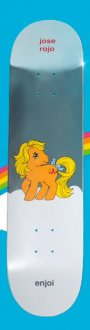 Enjoi - Jose Rojo - My Little Pony SDCC Foil Deck