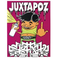Mike Giant - Juxtapoz - Screen Print